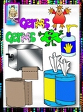 Clip Art~ Yuck!  Germs!