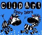 Clip Art Zippy Zebra