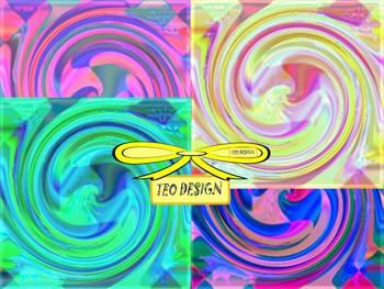Digital paper - Colors - Clip Art