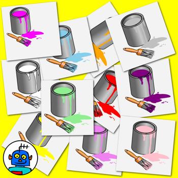 Clip Art for Colors - Color png files.