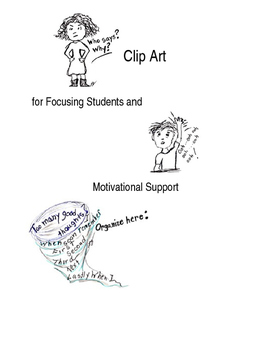 Clip Art for Focus and Motivational Support