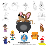 Clip Art for Mouse Soup / Mouse Tales by Arnold Lobel