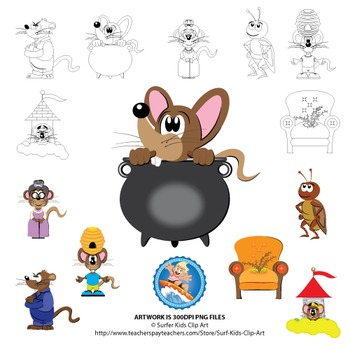 Clip Art For Mouse Soup Mouse Tales By Arnold Lobel