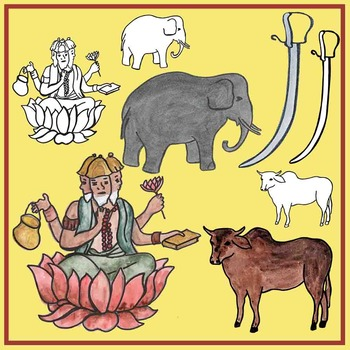 Clip Art for Gods in India
