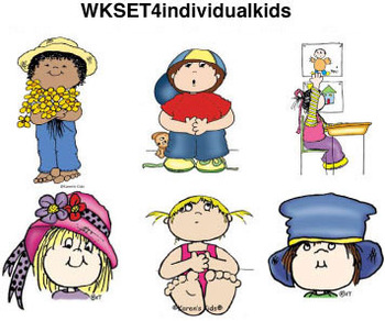 Clip Art for WEBSITES Individual Kids 2
