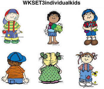 Clip Art for WEBSITES Individual Kids