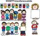 Clip Art for WEBSITES Set 7 Miscellaneous Kids