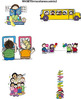 Clip Art for WEBSITES Set 8 Miscellaneous Kids 2