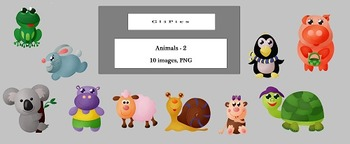 Clip Art of Animals (version - 2), by CliPics