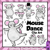 Clip Art of Dancing Mice | Clipart Mouse Dance