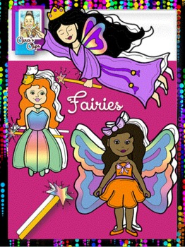 Clip Art~Enchanting Fairies