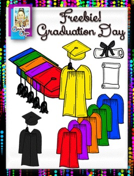 Clip Art~Graduation Day!