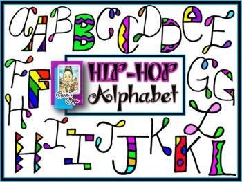 Clip Art~Hip-Hop Alphabets