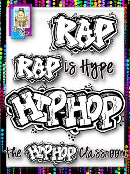 Clip Art~Hip-Hop ~ Rap Kids