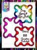 Clip Art~Square Lace Scallop Borders
