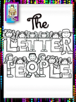Clip Art~The Letter People Alphabet