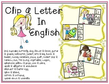 Clip Beginning Letter Sound