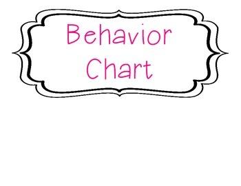 Clip Behavior Chart - Apples