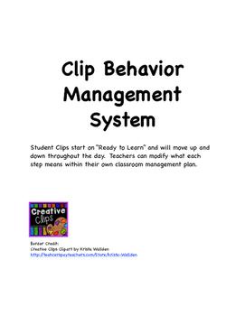 Clip Behavior Management System