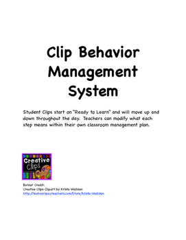 Clip Behavior Management System