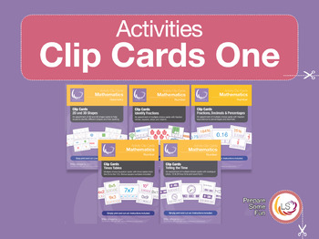 Clip Card Bundle 1