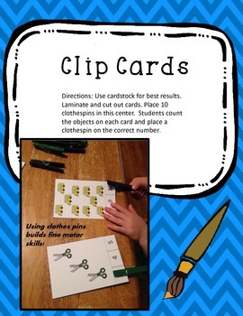 Clip Card Counting Center