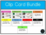 Clip Card Math and Literacy **Growing Bundle*** for each m