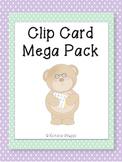 Clip Card Mega Pack for ELA and Math