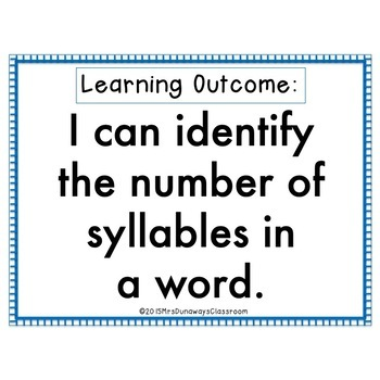 Clip Cards: 2, 3, & 4 Syllable Words BUNDLED (Sets 1, 2, 3)