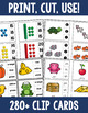 Clip Cards Activity Bundle - Literacy, Math, and More