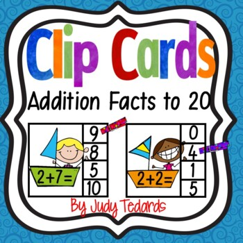 Clip Cards (Addition Facts to 10)