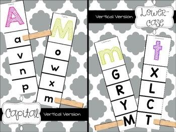 Clip Cards {Alphabet}