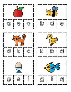 Clip Cards-Alphabet