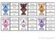 Bear Clip Cards - Colour Words