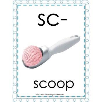 Clip Cards: Beginning Blends & Digraphs (Set 3)