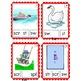 Clip Cards: Beginning Blends & Digraphs (Set 4)