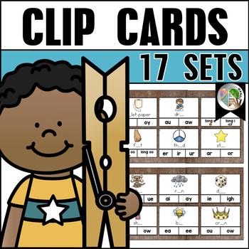 Clip Cards (17 Sets) Bundle 2