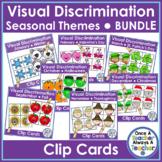 Clip Cards  •  Visual Discrimination  • Bundle