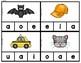 Clip Cards CVC Short Vowels BUNDLE