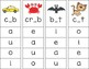 Clip Cards - CVC Words with Missing Vowels