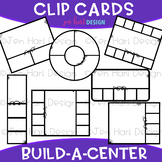 Clip Cards Clip Art - Build-a-Center {jen hart Clip Art}