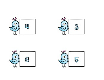 Ten Frames - Counting 1-10 - Independent Practice Cards