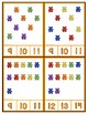 Counting Bears 1-20  -  Clip Cards