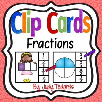 Clip Cards (Fractions)