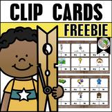 Long e Clip Cards Freebie