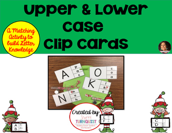Clip Cards - Matching Upper & Lower Case Letters