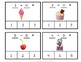 Clip Cards Math - Sweet Treats Subtraction to Ten