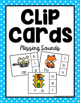 Clip Cards - Missing Sounds