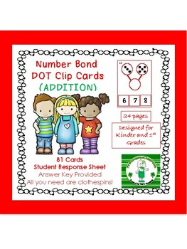 Clip Cards: Number Bond with Dots