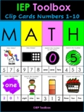 Clip Cards Numbers 1-10